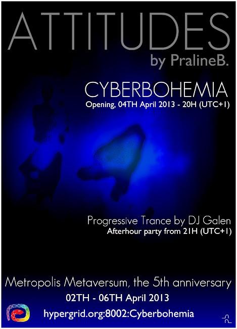 Exposition Attitudes à Cyberbohemia