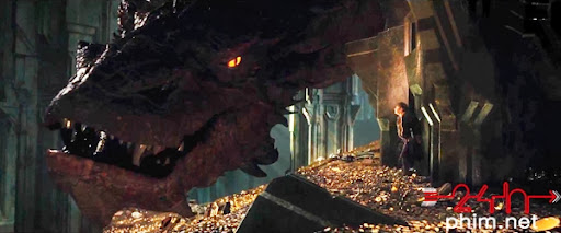 24hphim.net thehobbit2 8 Đại chiến với Rồng Lửa