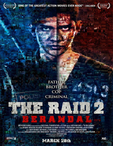 Poster de The raid 2: Berandal