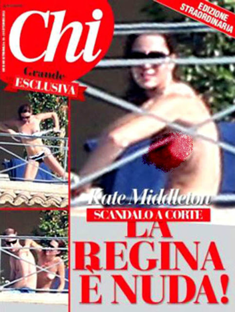 Kate Middleton New Topless Photos from Chi Magazine