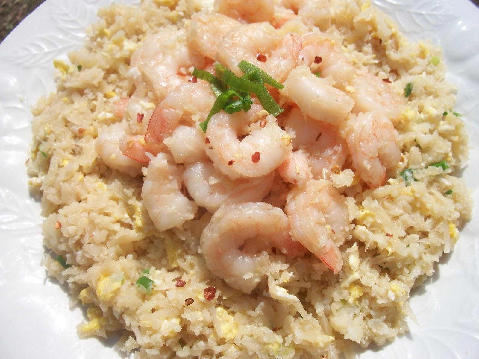Shrimp or Chicken Fried \