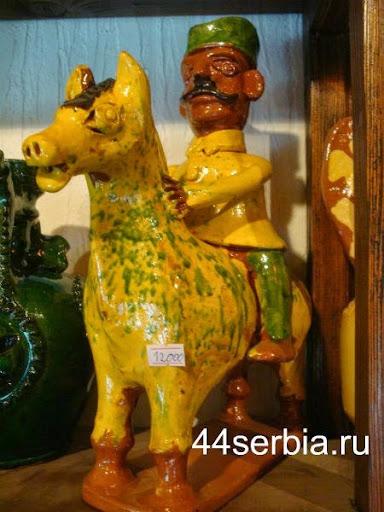 воин керамика
