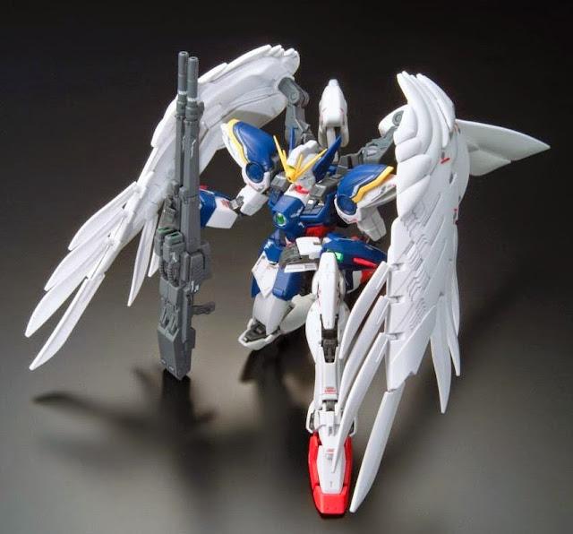 Sáng tạo nên các tư thế sống động cho Wing Gundam Zero Endless Waltz