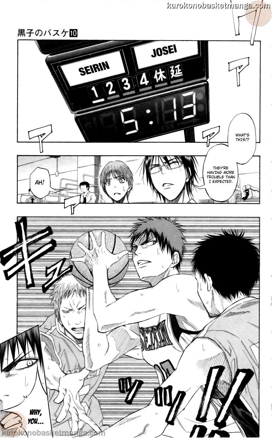Kuroko no Basket Manga Chapter 82 - Image 05