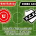 Escucha aquí Universitario - Ferro Carril (9a Fecha 2a Rueda 2013)