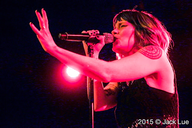 Kristen May Flyleaf The Glass House Pomona CA 031215 Jack