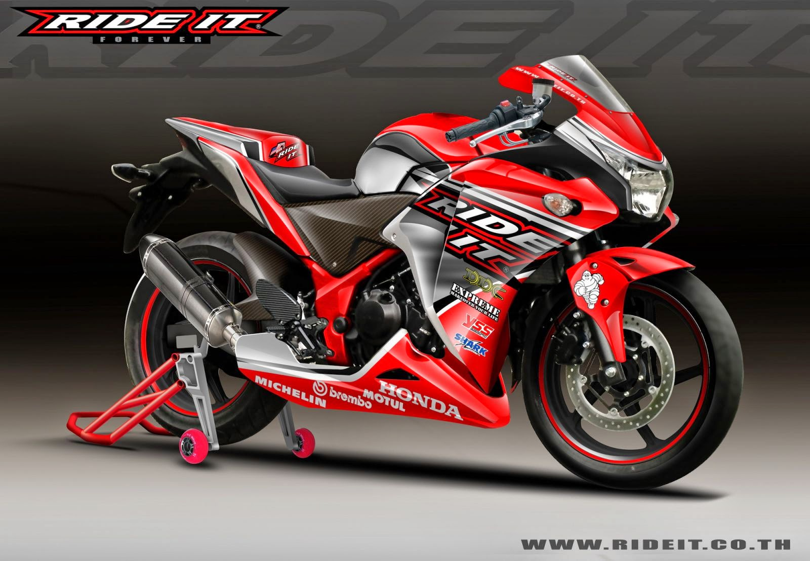Modifikasi Motor Cbr 150r New