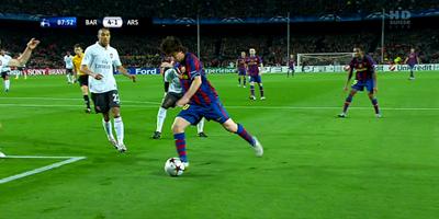 UEFA-8 : Barcelona 4 vs 1 Arsenal 06-04-2010