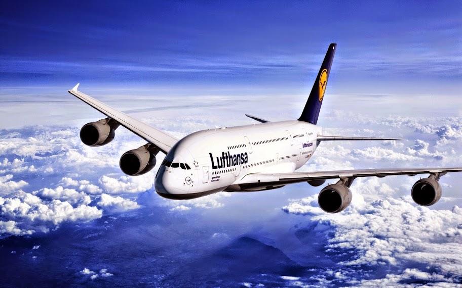 Lufthansa Airline Desktop Wallpaper