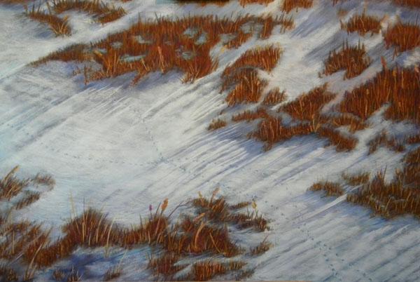"""Deer Crossing"" by Artist Juliette Travous."