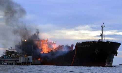 Kebakaran Kapal Tangki MISC: Seorang Anak Kapal Maut, Empat Lagi Hilang