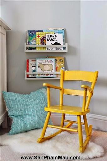 Thi công nội thất gỗ: Trang trí nhà từ đơn giản đến cá tính với gam màu vàng-6
