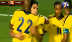 Video Goles Mexico Colombia [0 - 2] resultado 29 Febrero