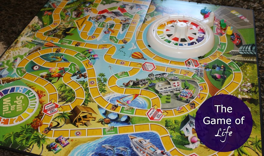 Hasbro's The Game of Life Board Game