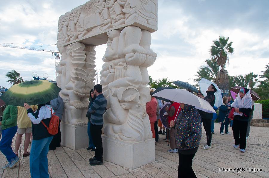 Врата Чудес Израилевых. Парк Абраша. Экскурсия в Яффо. Гид в Израиле Светлана Фиалкова.