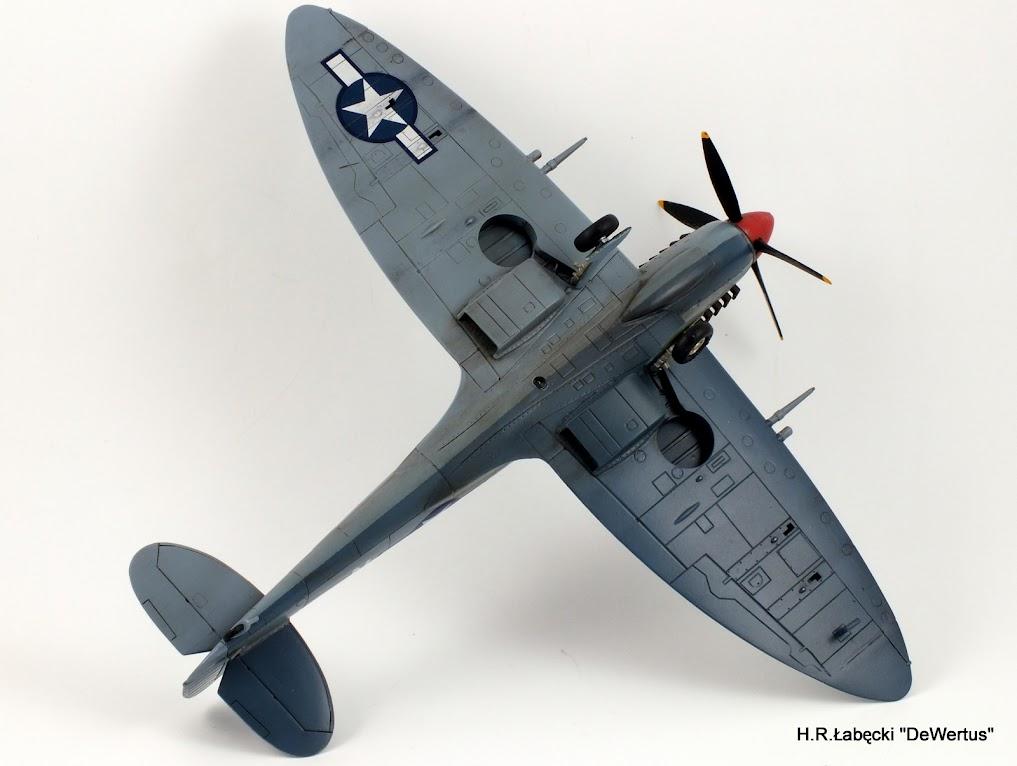 Malta/Sicily 1943; Spitfire Mk.IXc 2FS/52FG; Italeri 1/48 DSCF3804