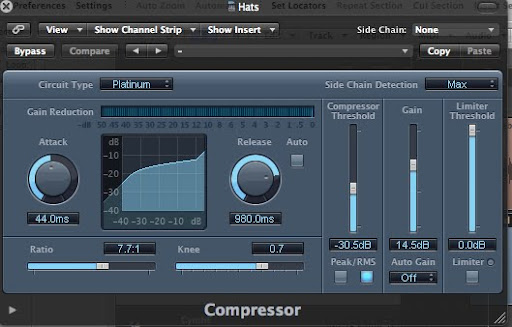 Hi-Hat Compressor