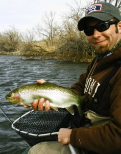 Wyoming fly fishing guide Thermopolis