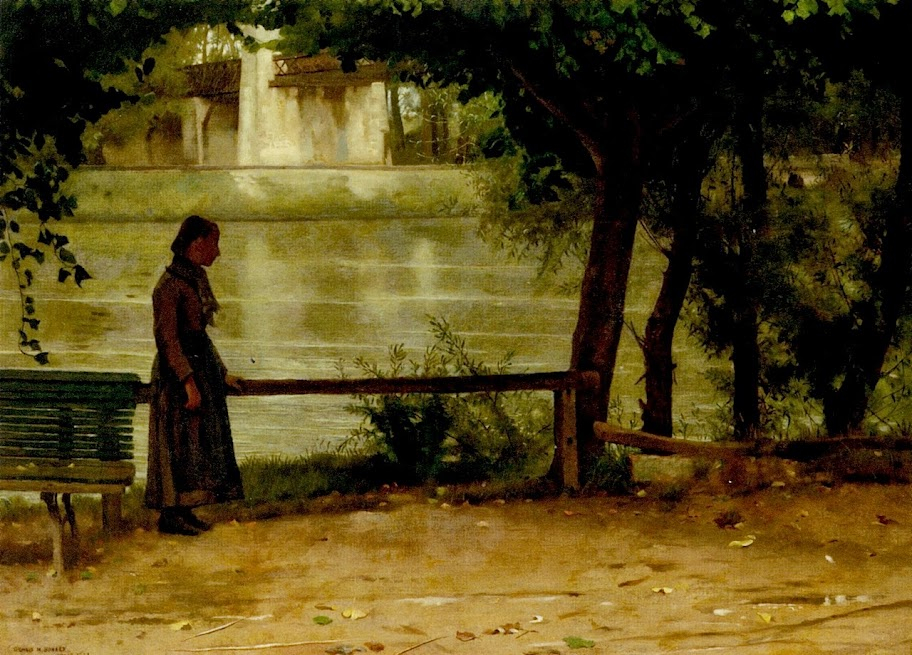 Dennis Miller Bunker - On the Banks of the Oise