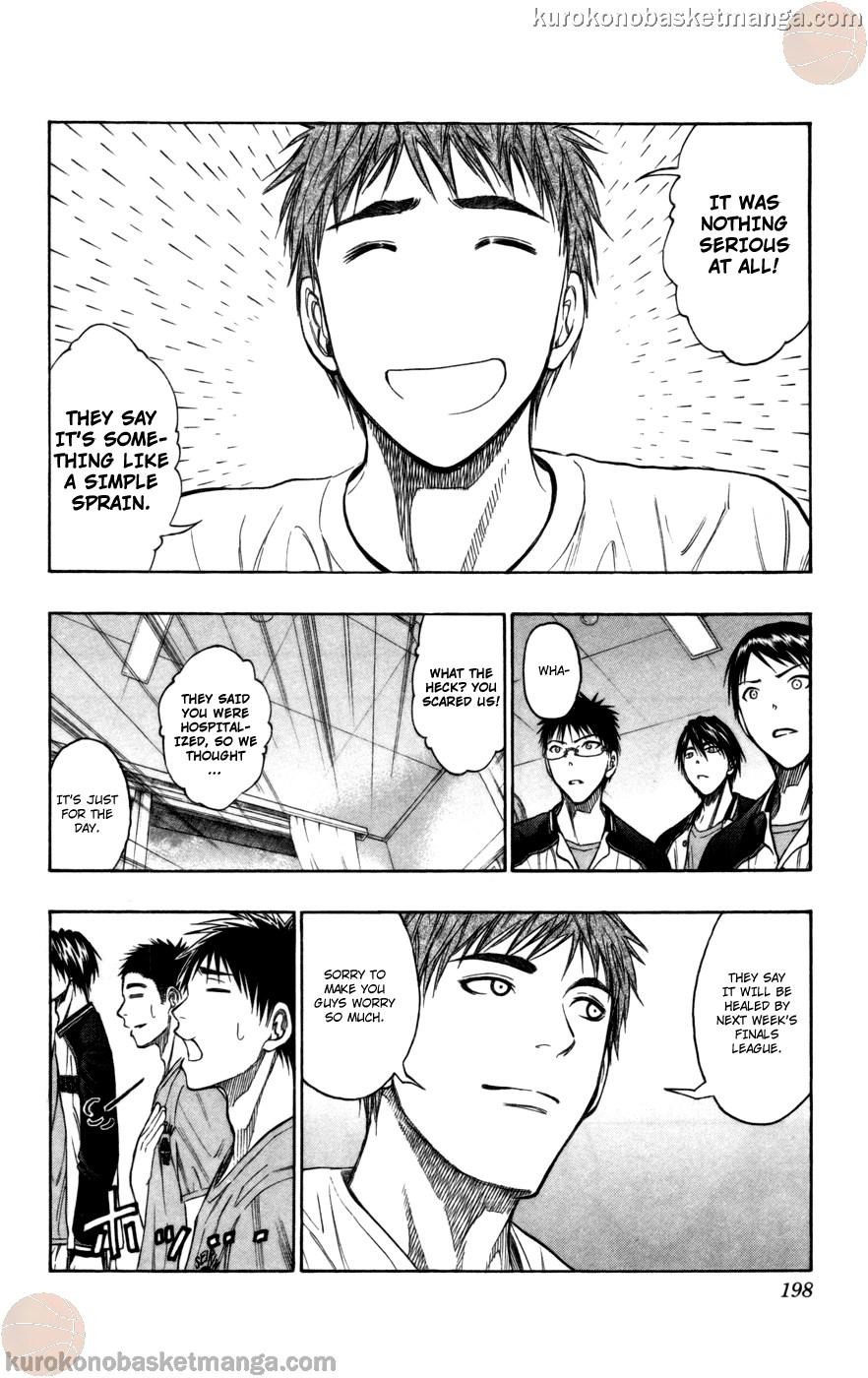 Kuroko no Basket Manga Chapter 99 - Image 13