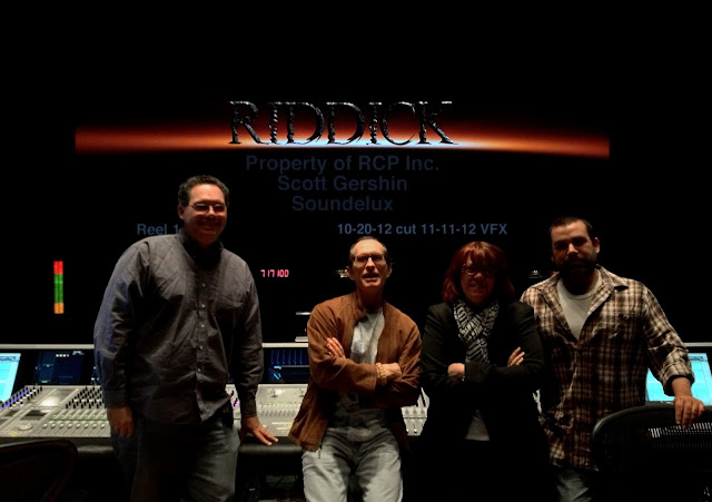 Riddick David Twohy & Sound Delux crew reveal Riddick logo