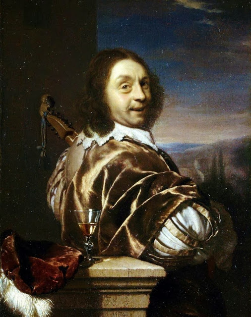 Frans van Mieris the Elder - Self portrait
