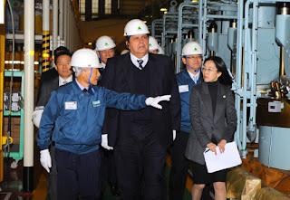 Hyundai Heavy Hosts Peruvian President