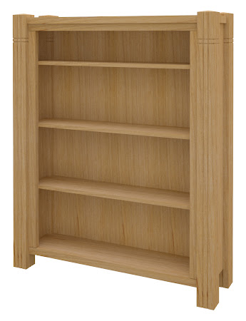 Phoenix Standard Bookshelf in Ginger Maple