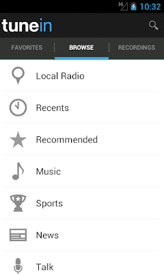 TuneIn Radio Pro v6.8 for Android