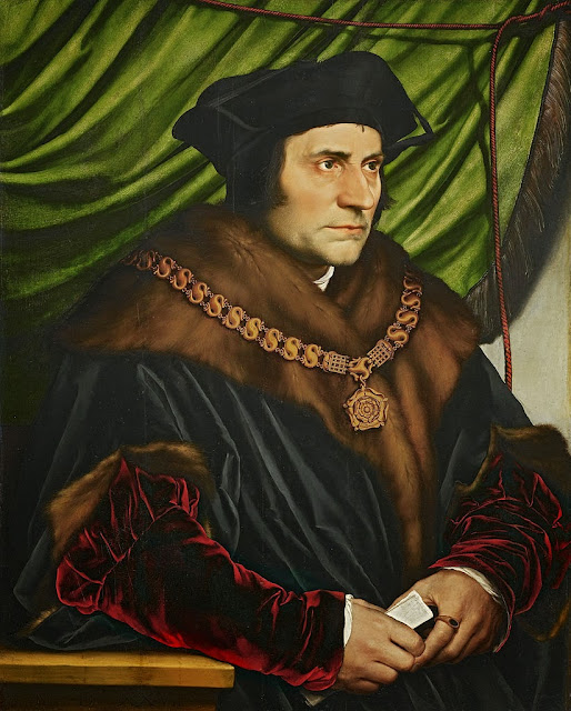 Hans Holbein the Younger - Sir Thomas More - Google Art Project