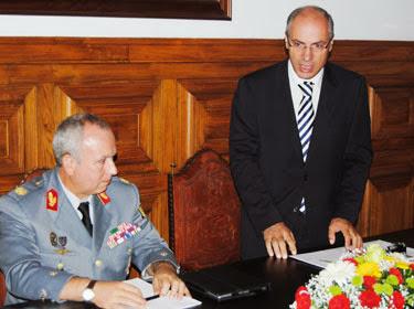 Ministro da Defesa preside a comemorações do Dia do Exército em Lamego