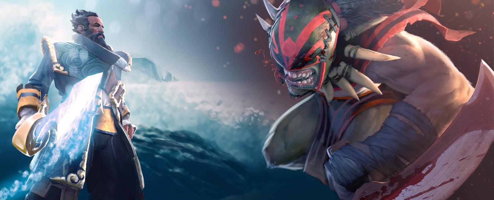 Loạt ảnh nguyên họa của các hero trong DotA 2 - Ảnh 3