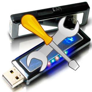 Software untuk memperbaiki flashdisk yang rusak