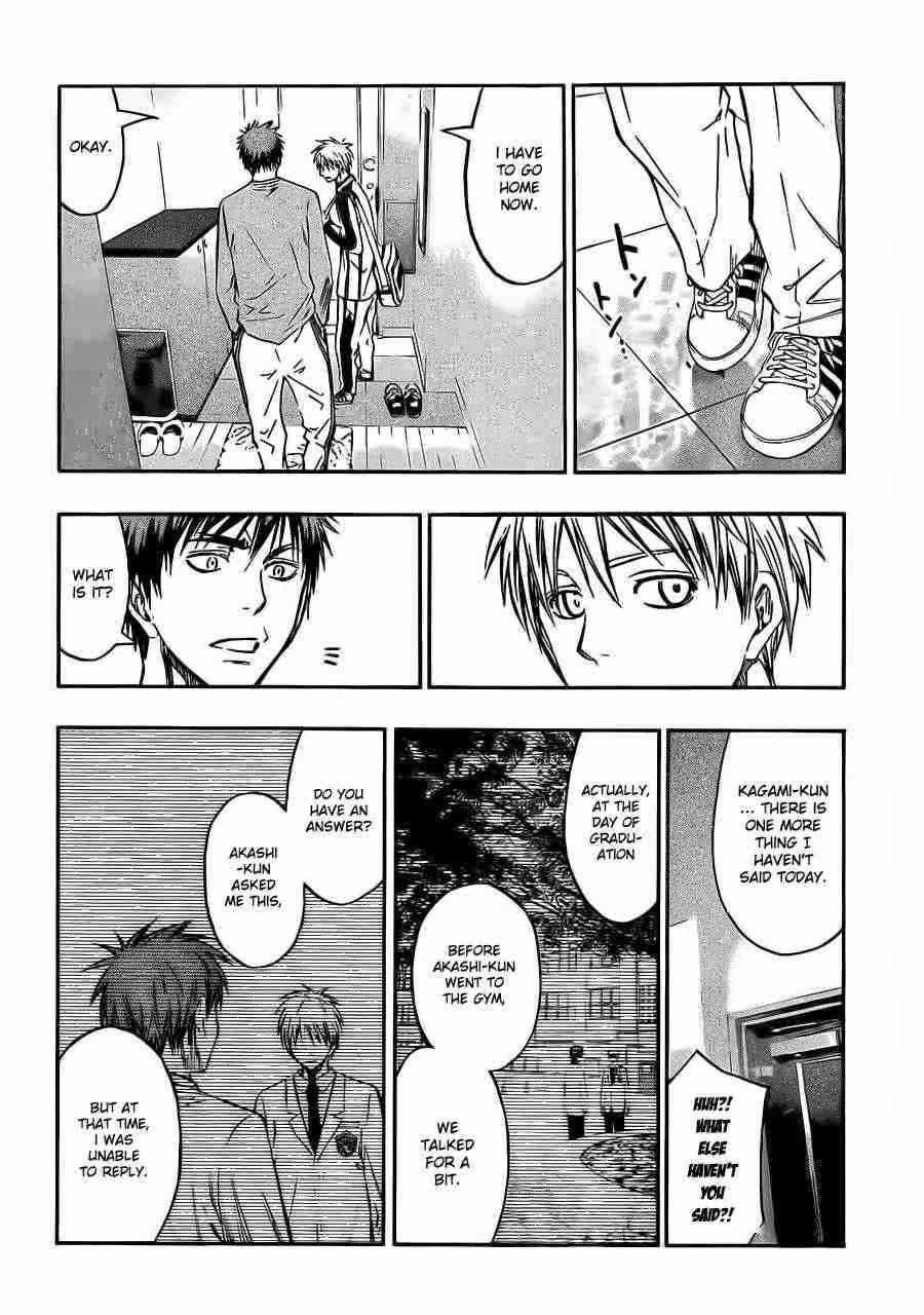 Kuroko no Basket Manga Chapter 228 - Image 14