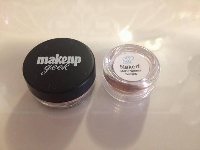 mac pigment samples free