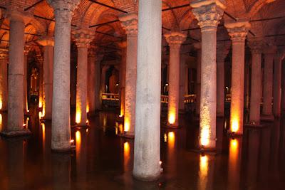 Basílica Cisterna - Istambul - Turquia