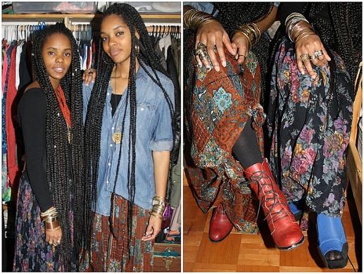Darlene Okpo, Lizzy Okpo, diseñadoras de moda Nigeria África Estados Unidos