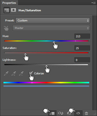 Mengubah warna
