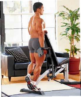 BODYBUILDING ROUTINES : FULL BODY : SINGLE-LEG CALF RAISE