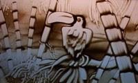 الرسم علي الرمال