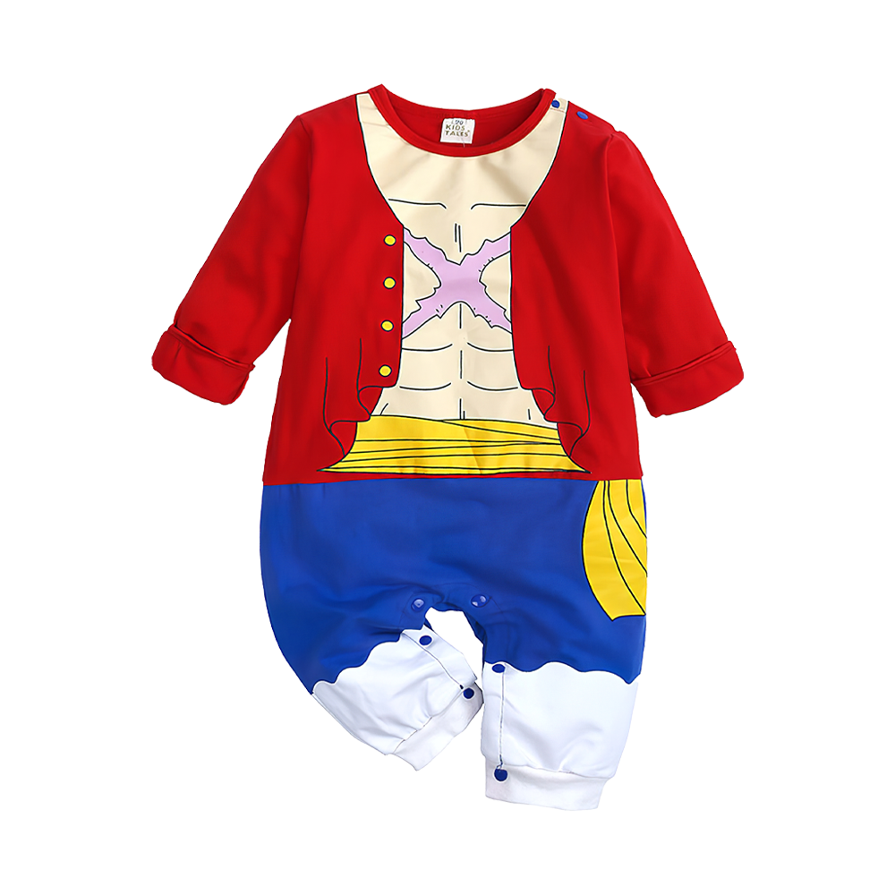 Baby Boy Famous Manga & Anime Hero Cosplay Jumpsuit