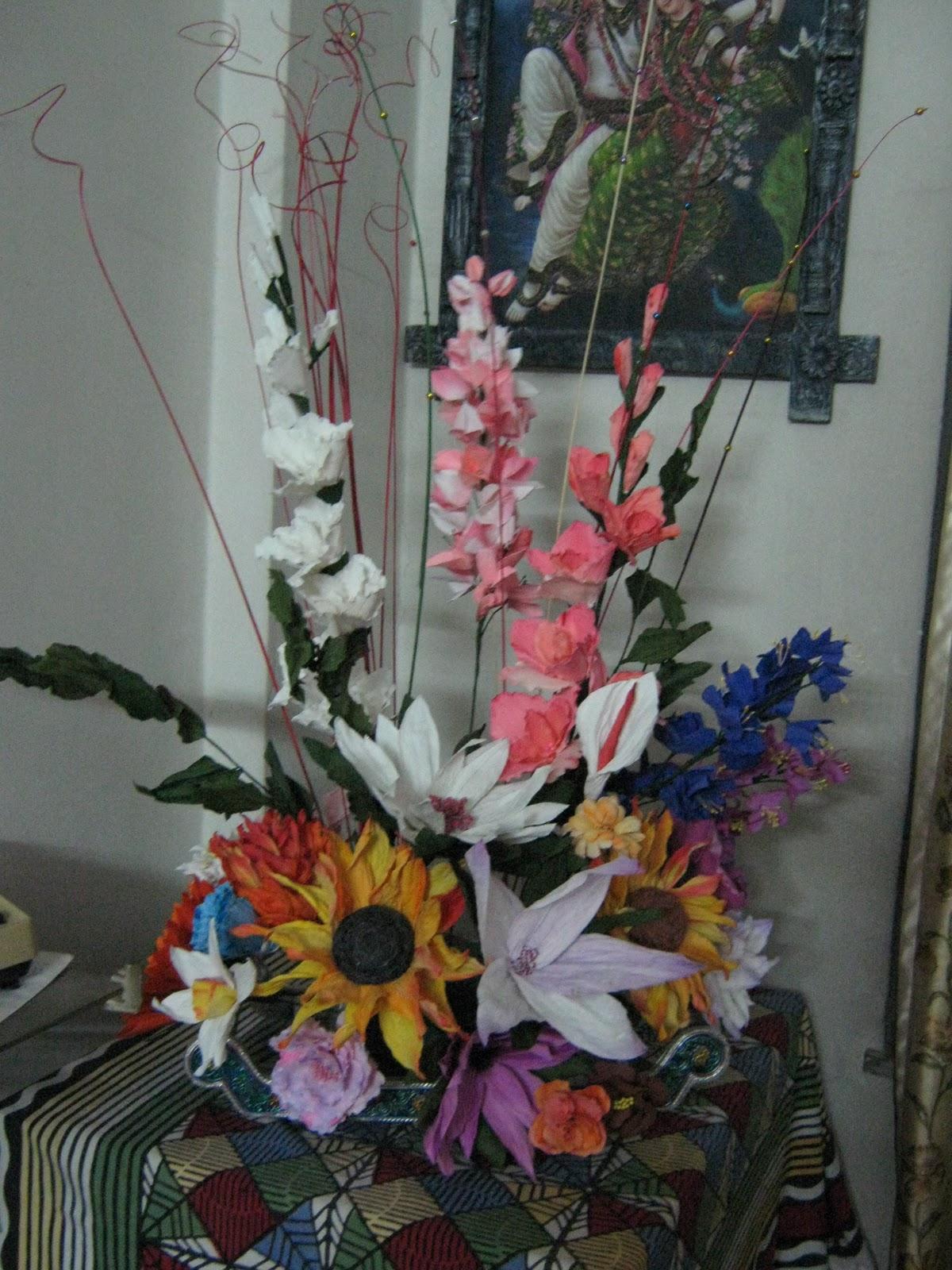Vandanas creation duplex paper origata flower bouquet duplex paper origata flower bouquet izmirmasajfo