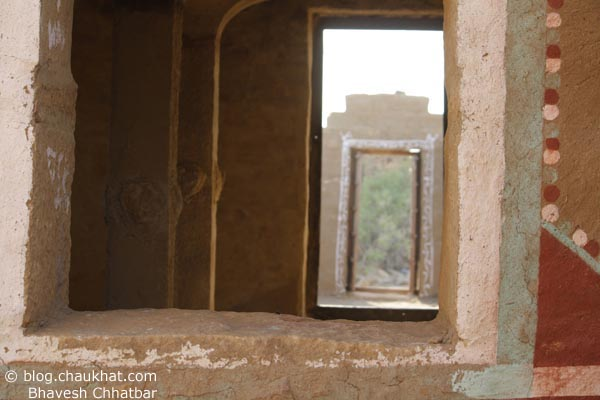 Kuldhara Village in Jaisalmer - Window of a Revived House