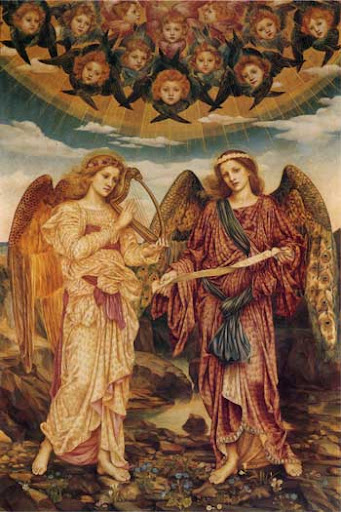 Evelyn De Morgan - Gloria in Excelsis