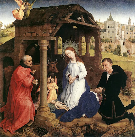 Rogier van der Weyden - Bladelin Triptych - Nativity (central panel)