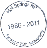 Hotspringstamp
