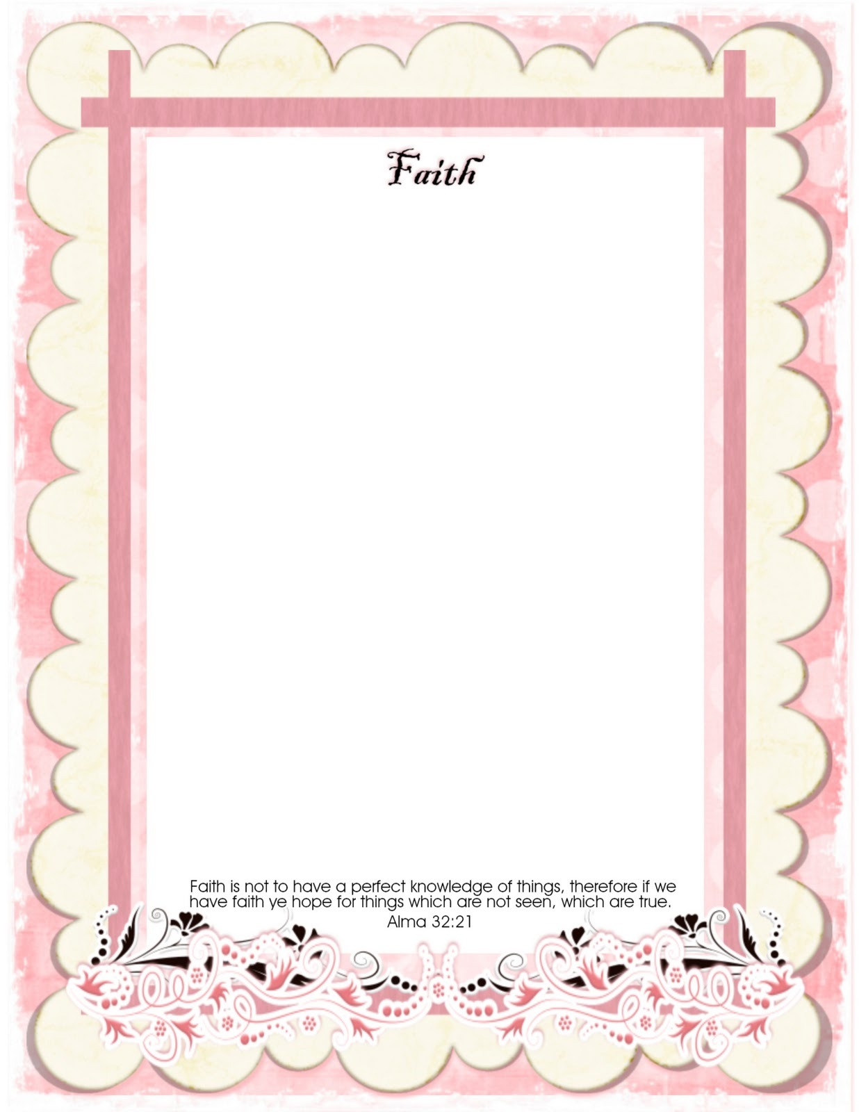 Lds young women tips handouts amp ideas young women value certificates