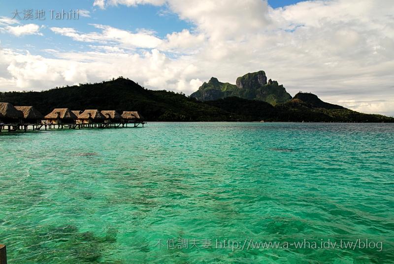 【大溪地Tahiti天堂之旅】大溪地水上屋~頂級奢華的享受!