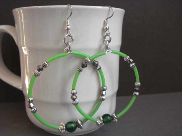 How To Make Fun Cover Up Hoop Earrings The Beading Gem S