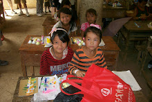 Kids Receive gifts